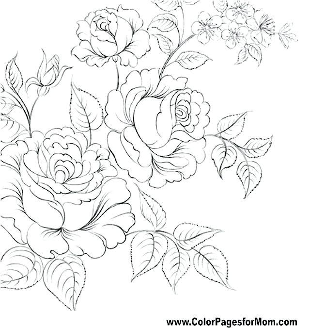 640x676 Flower Mandala Coloring Pages Printable Coloring Mandalas Lotus