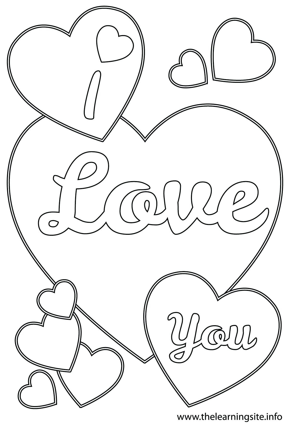 1200x1800 I Love You Printable Coloring Pages Acpra