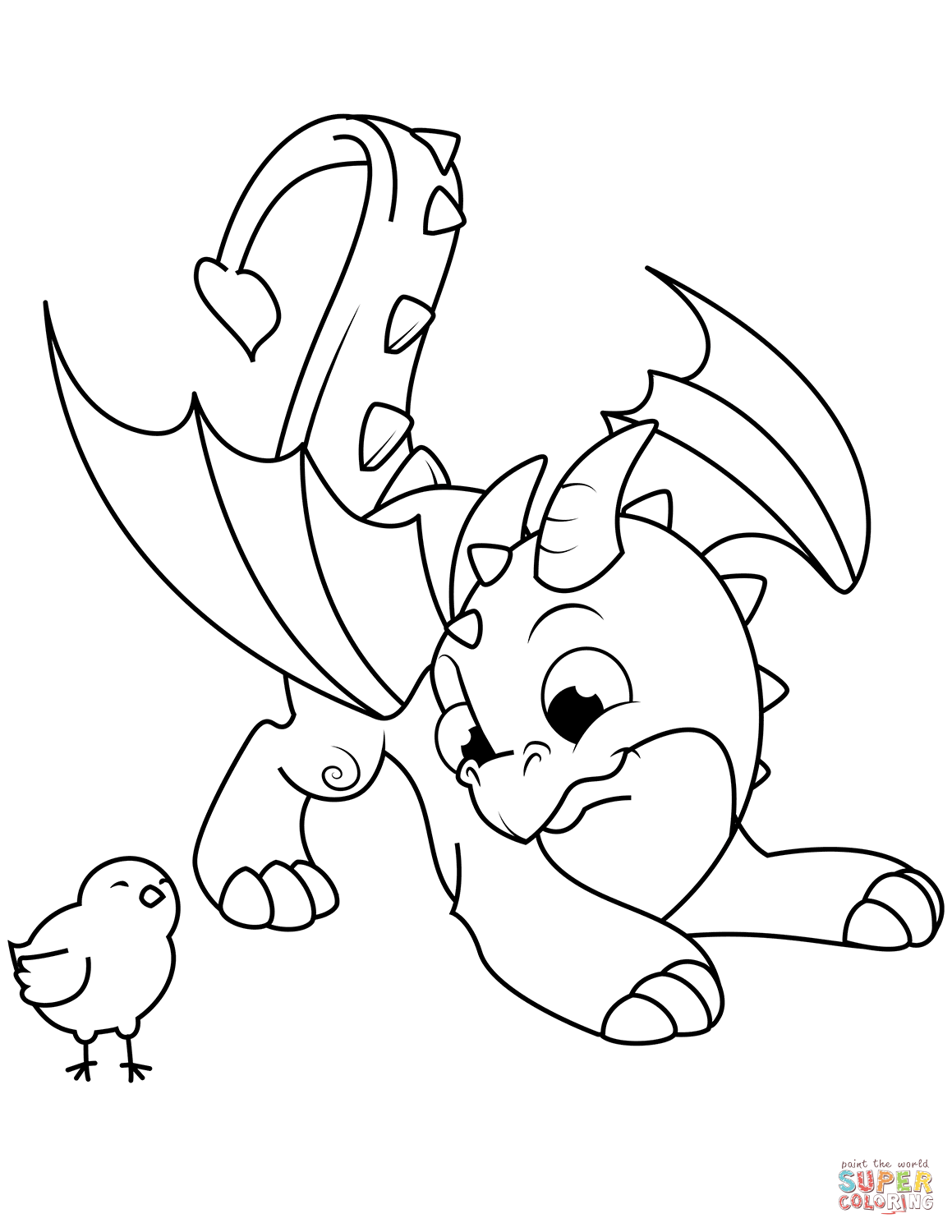 1159x1500 Love Dragon Colouring Pictures Free Printable Coloring Pages