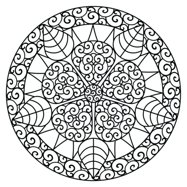 736x736 Free Printable Holiday Coloring Pages For Adults Only Free