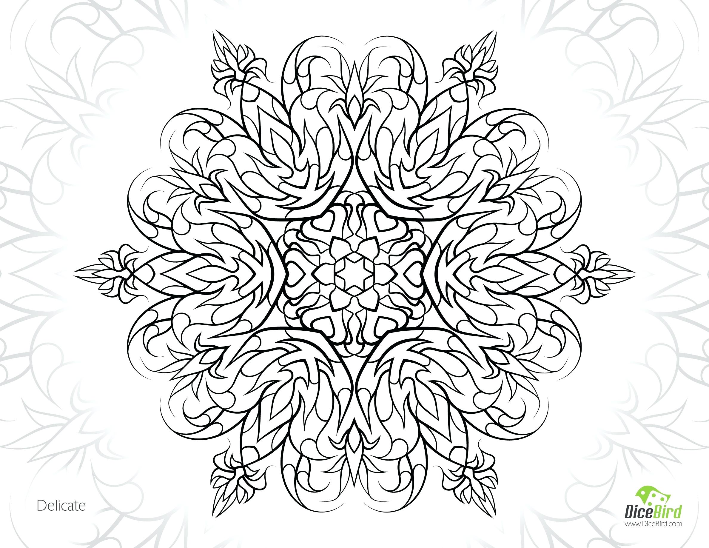 2376x1836 Free Adult Coloring Pages Printable Page A Kids Online Delicate