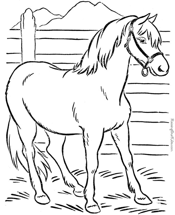 670x820 Free Printable Animal Coloring Pages