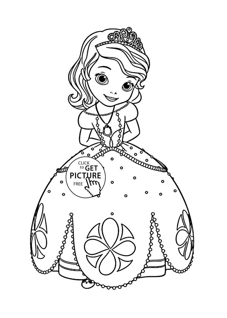 736x1030 Best Disney Princess Coloring Pages Images