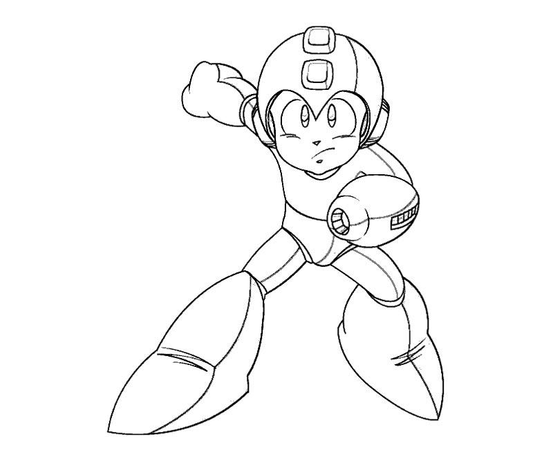 800x667 Megaman Coloring Pages Mega Man Coloring Page Coloring Home