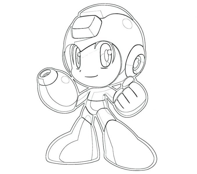 678x600 Megaman Coloring Pages Man Coloring Pages Easy To Print Coloring