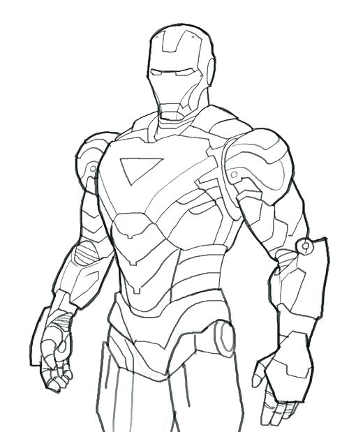 500x619 Printable Ironman Coloring Pages Complete Printable Coloring Pages