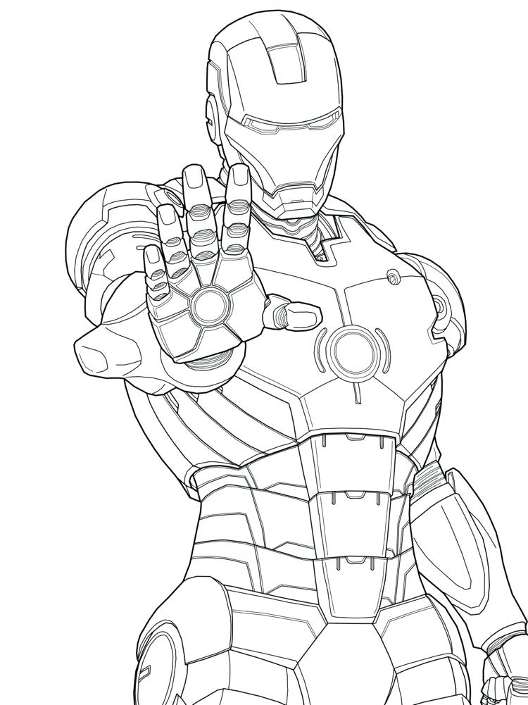 750x1001 Printable Ironman Coloring Pages Printable Coloring Pages Iron Man