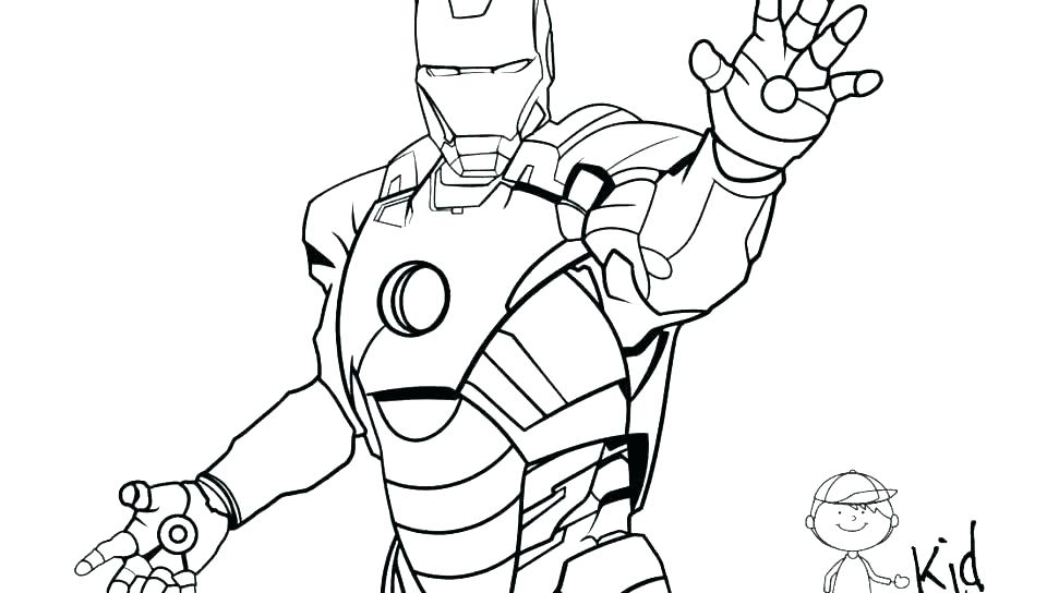 960x544 Iron Man Coloring Pages To Print Icontent