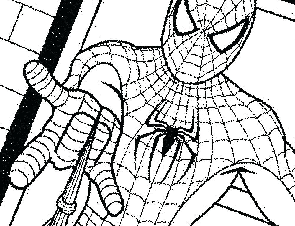 1000x768 Coloring Pages Spiderman Free Printable Coloring Pages Kids