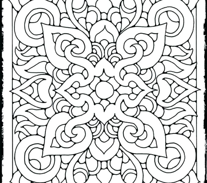 678x600 Coloring Pages Cool Designs Design Pages To Color Printable
