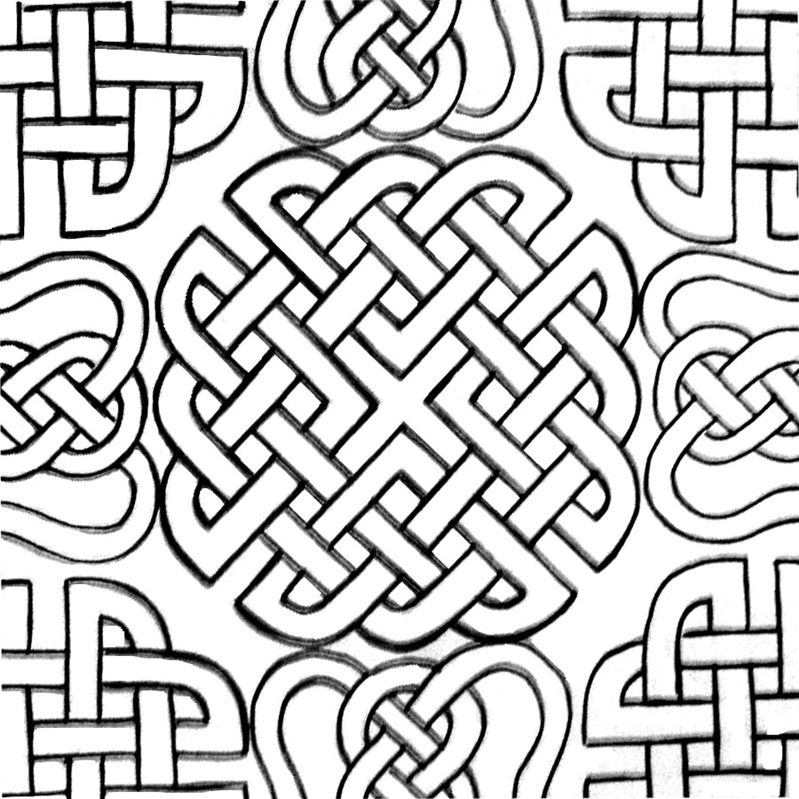 900x900 Extraordinary Other Printable Teen Coloring Pages Tone Celtic Page