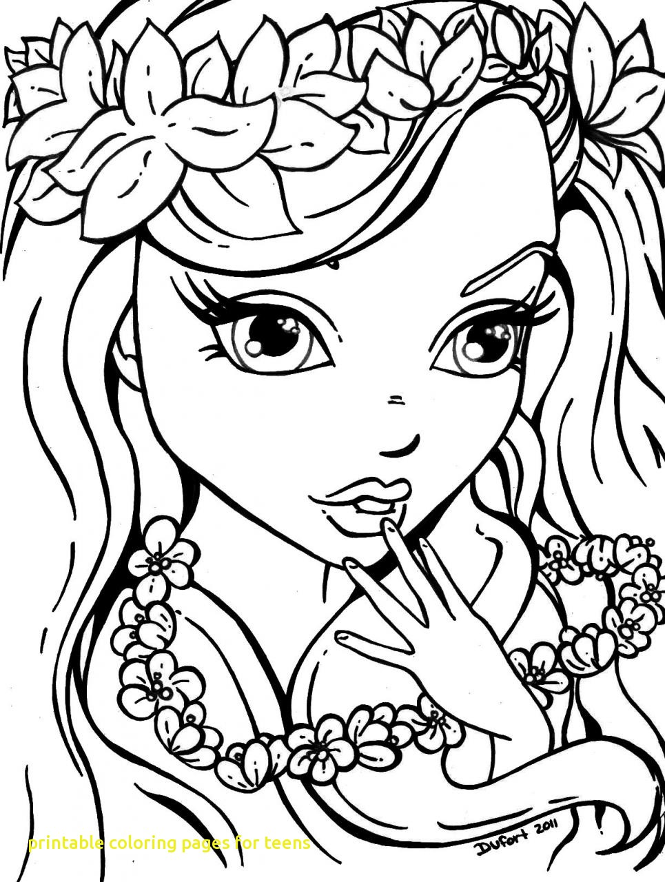965x1280 Printable Coloring Pages For Teens With Coloring Pages Girls