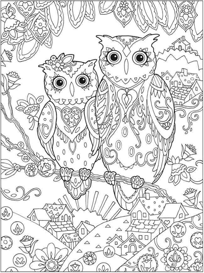 650x871 Printable Coloring Pages For Adults Free Designs} Picture