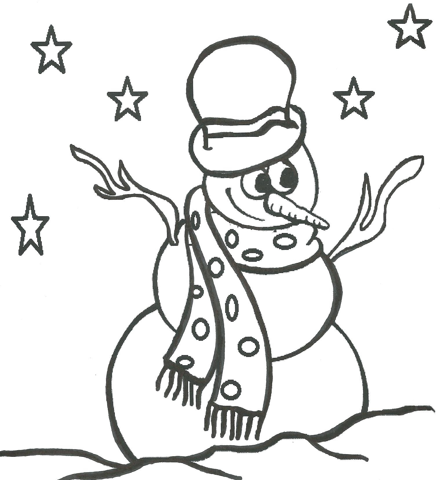 1518x1656 Printable Coloring Snowmen Coloring Page Snowman Pages For Adults