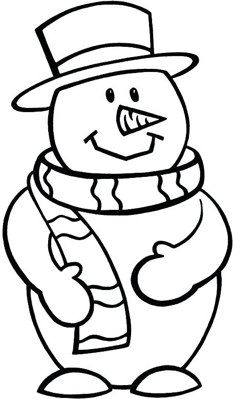 455x776 Turkey Coloring Sheets To Print Snowman Printable Coloring Pages