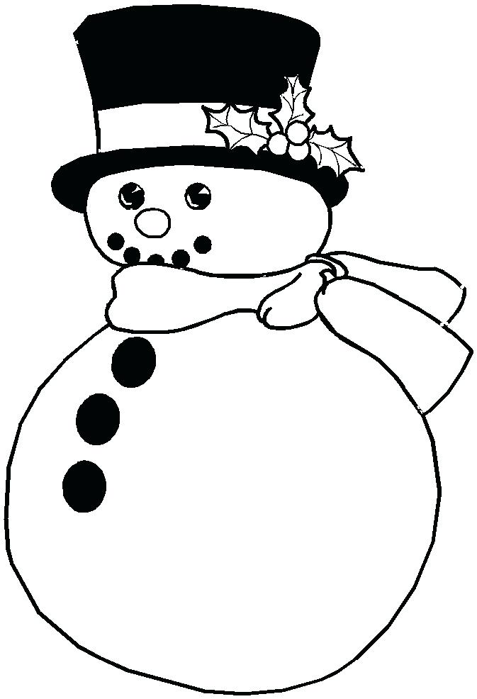 673x986 Christmas Snowman Coloring Pages Free And Printable Coloring Page