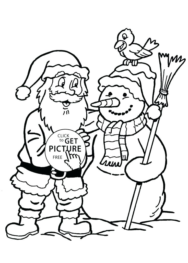 736x1031 Coloring Page Snowman Snowman Coloring Pages For Kids Coloring