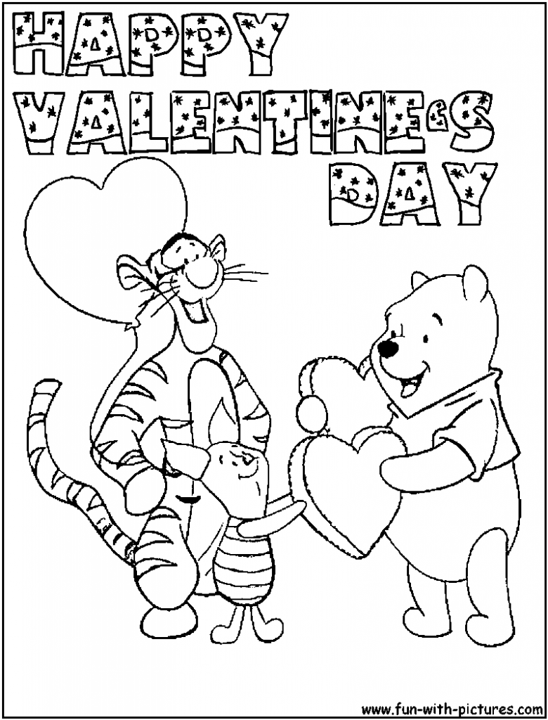 780x1024 coloring pages valentines day