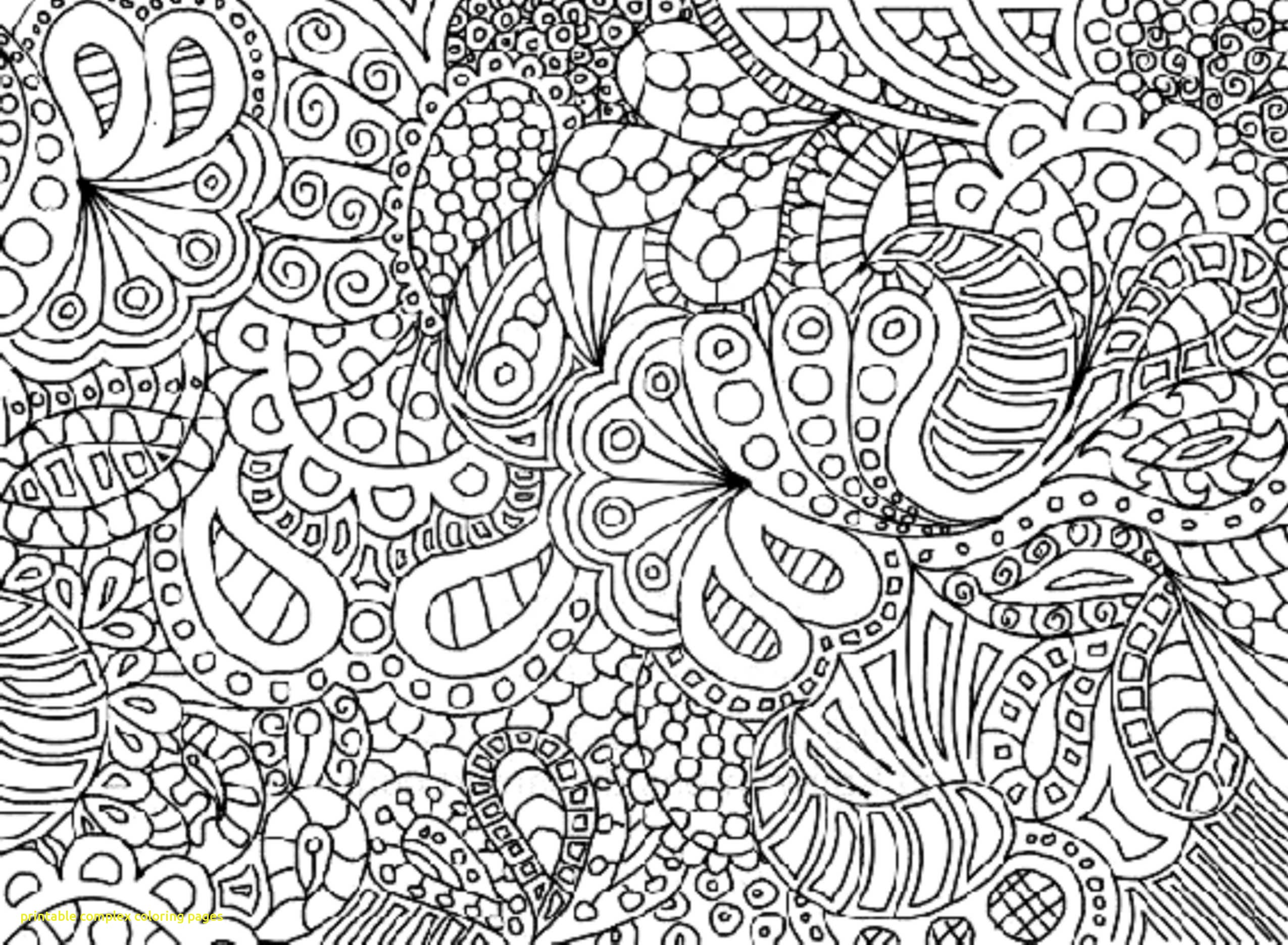 2550x1872 Printable Complex Coloring Pages