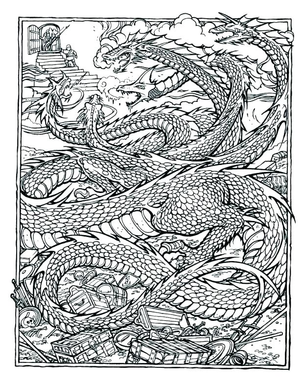 618x784 Printable Complex Coloring Pages