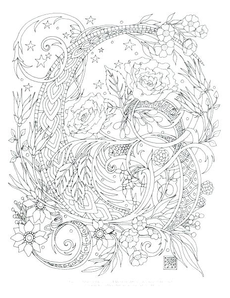 464x600 Complex Coloring Pages For Adults Coloring Pages Complex Printable