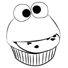 230x230 Top Free Printable Cupcake Coloring Pages Online