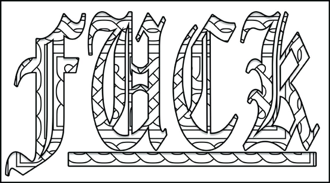31 Printable Swear Word Coloring Pages - Free Printable Coloring Pages