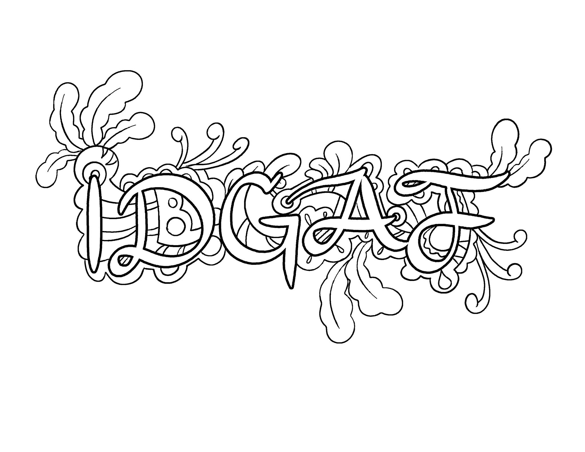 2048x1582 Idgaf Coloring Page