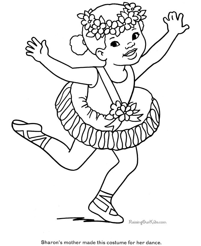 670x820 Best Dance Coloring Pages Images On Dance Coloring