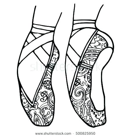 450x470 Ballet Coloring Pages Ballerina Coloring Pages For Adults Ballet