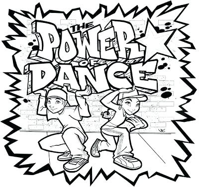 400x380 Power Of Dance Coloring Page Dancing Free Coloring Free Printable