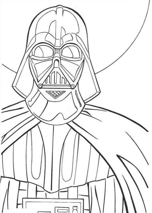 600x841 Darth Vader Coloring Pages Darth Vader, Hand Embroidery And Craft