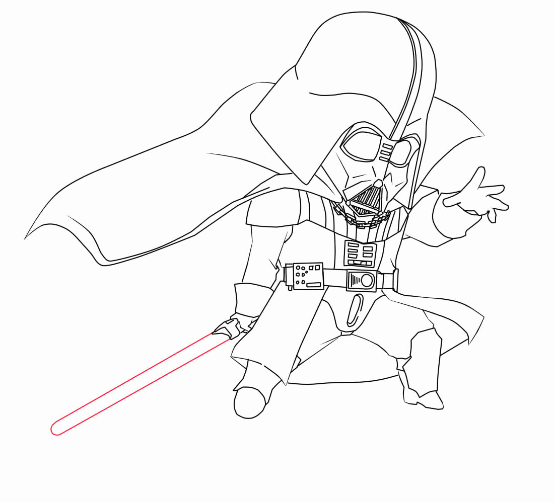 1100x1000 Darth Vader Coloring Pages Cute Coloring Gohan Printable Coloring