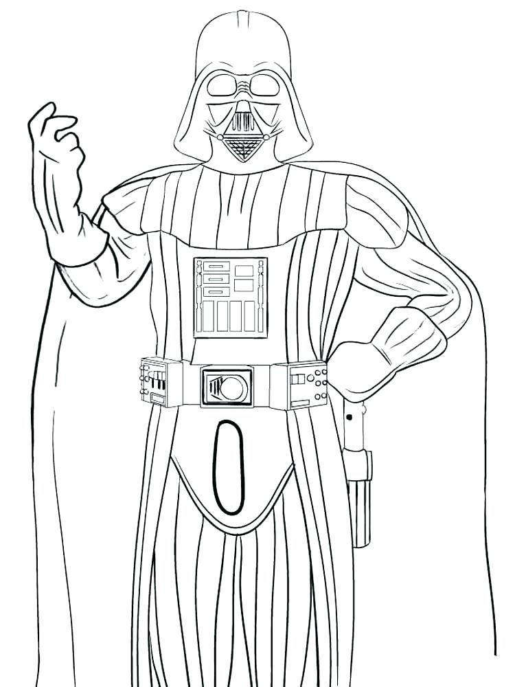750x1000 Darth Vader Coloring Pages Printable Coloring Page Coloring Pages