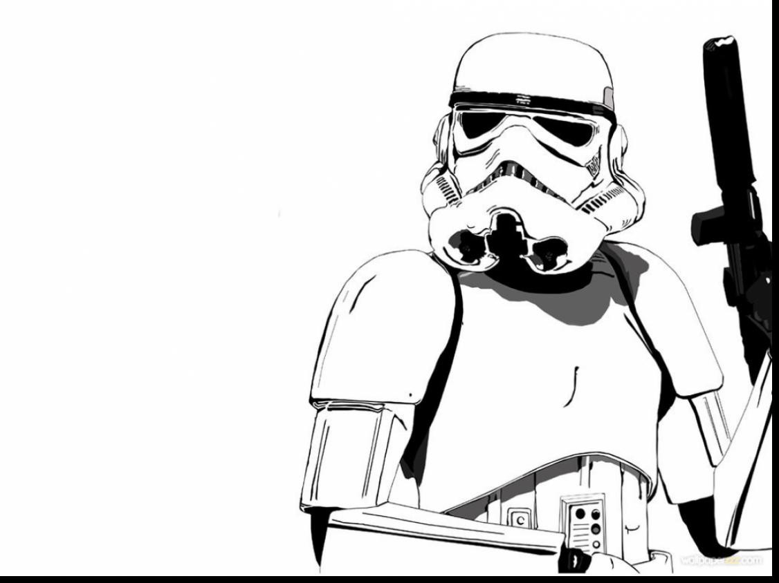 1126x844 Excellent Star Wars Stormtrooper Cartoon With Darth Vader Coloring
