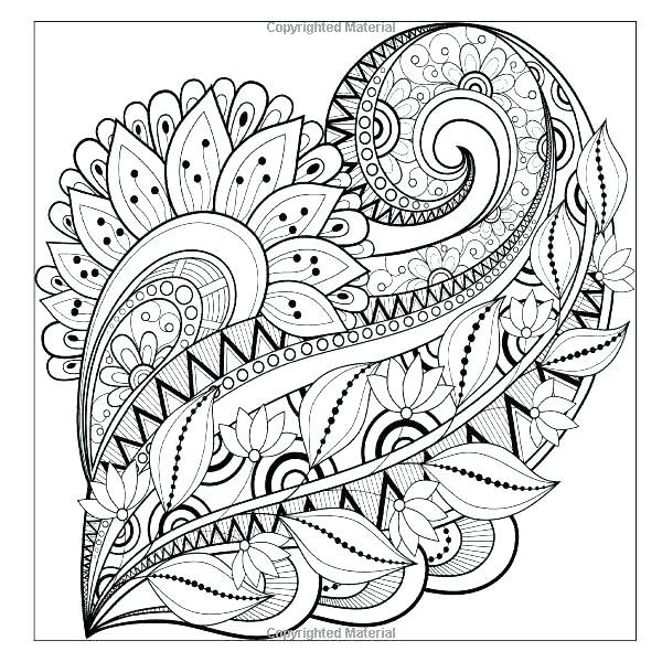 600x600 Free Stained Glass Pattern Coloring Pages Complex Coloring Pages