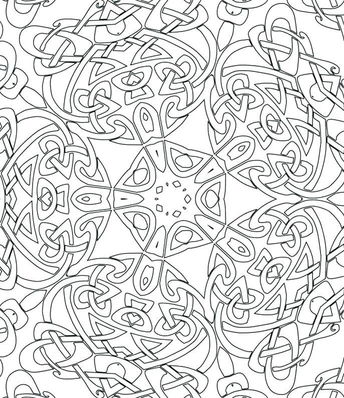 687x794 Patterns Coloring Pages Coloring Pattern Pages Regarding Printable