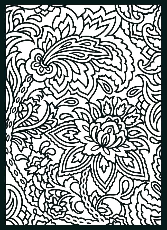 650x898 Patterns Coloring Pages Cool Pattern Coloring Pages Great Patterns