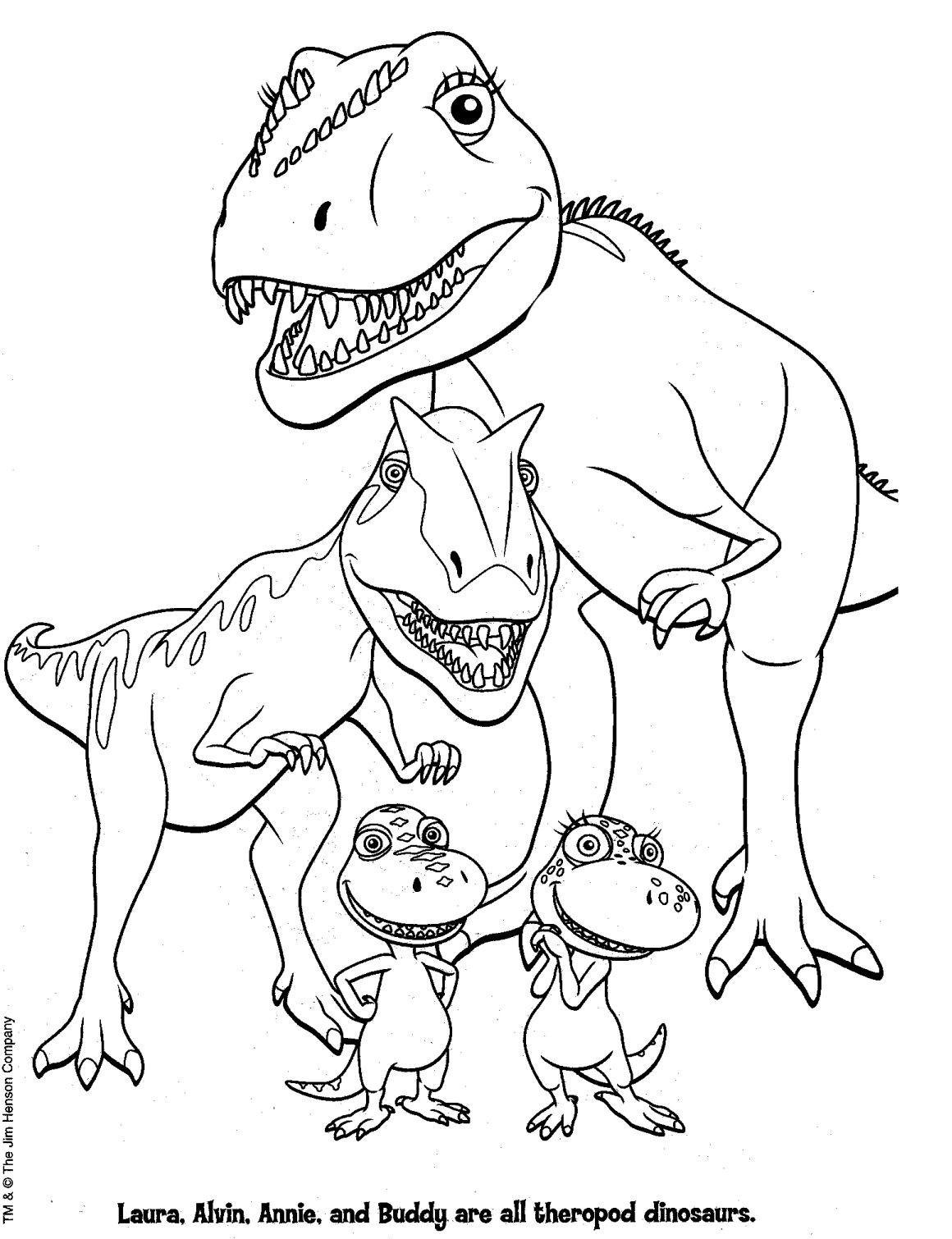 Printable Dinosaur Coloring Pages at GetDrawings.com | Free ...