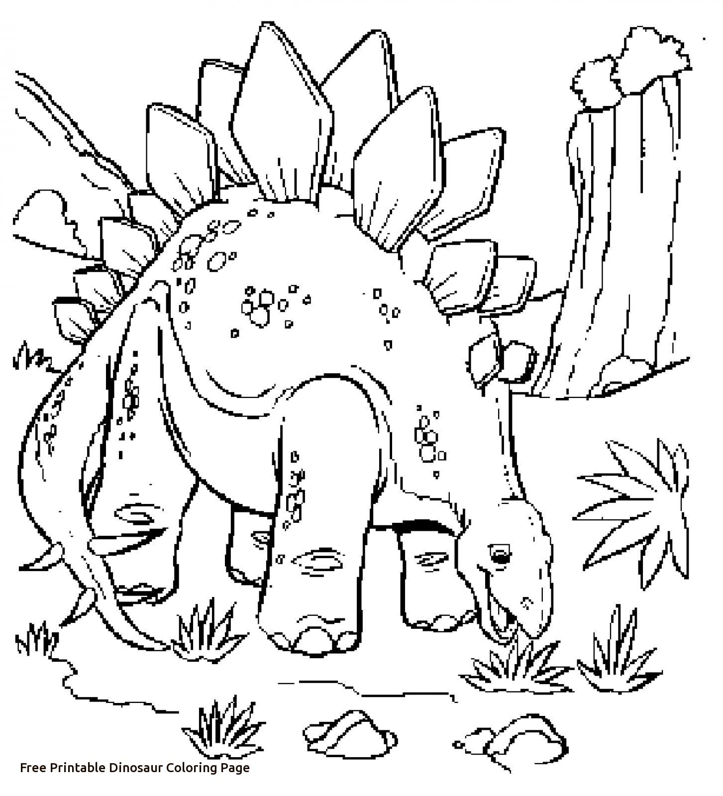 1453x1600 Printable Dinosaur Coloring Pages Unique Free