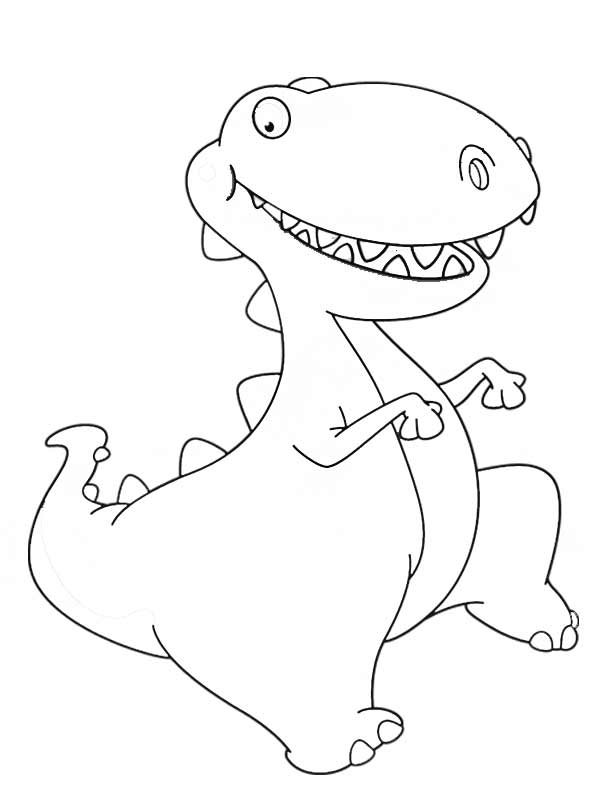 612x792 Baby Dinosaur Coloring Page Printable Dinosaur Coloring Pages