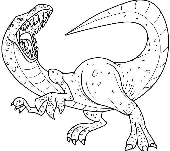 678x600 Dinosaur Coloring Pages Preschool Free Dinosaur Coloring Pages