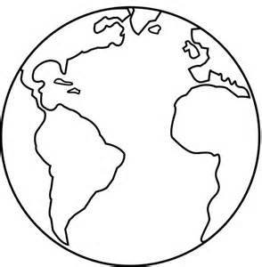 Printable Earth Coloring Pages