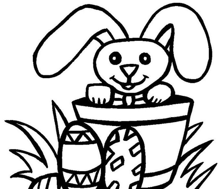 Printable Easter Coloring Pages For Toddlers At Getdrawings Com