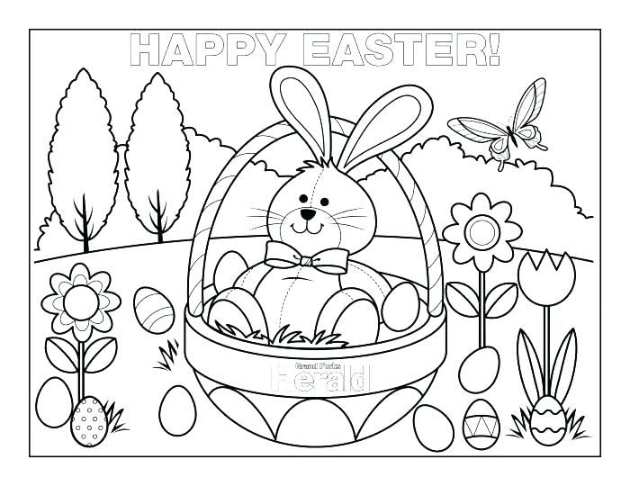 700x540 Printable Easter Coloring Pages Happy Coloring Page Coloring Book