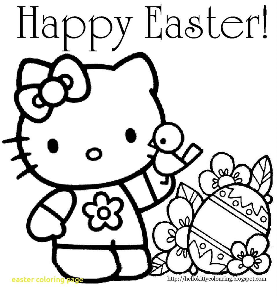 956x1024 Easter Coloring Page