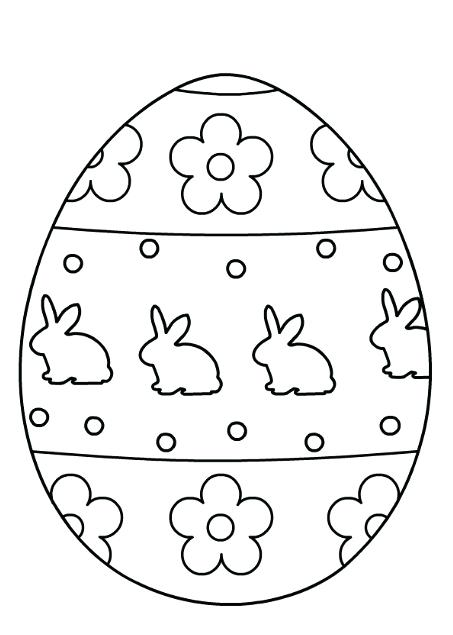 453x635 Easter Eggs Coloring Pages Plus Coloring Pages Of Eggs Egg