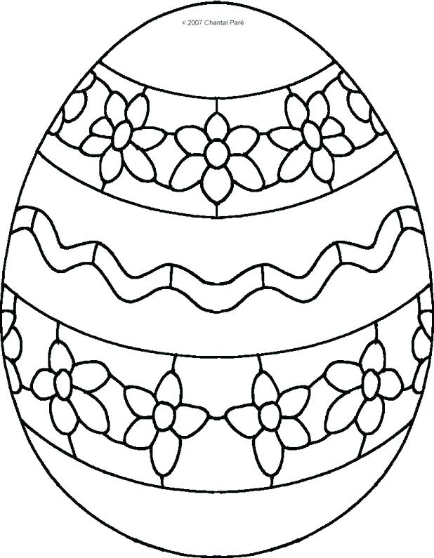 618x795 Egg Coloring Page Flower Egg Coloring Pages Stunning Pictures Page