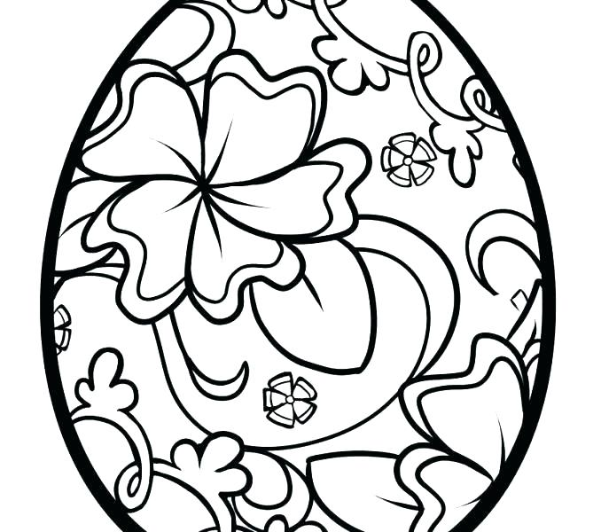 678x600 Free Printable Easter Egg Coloring Pages For Adults Eggs Pictures