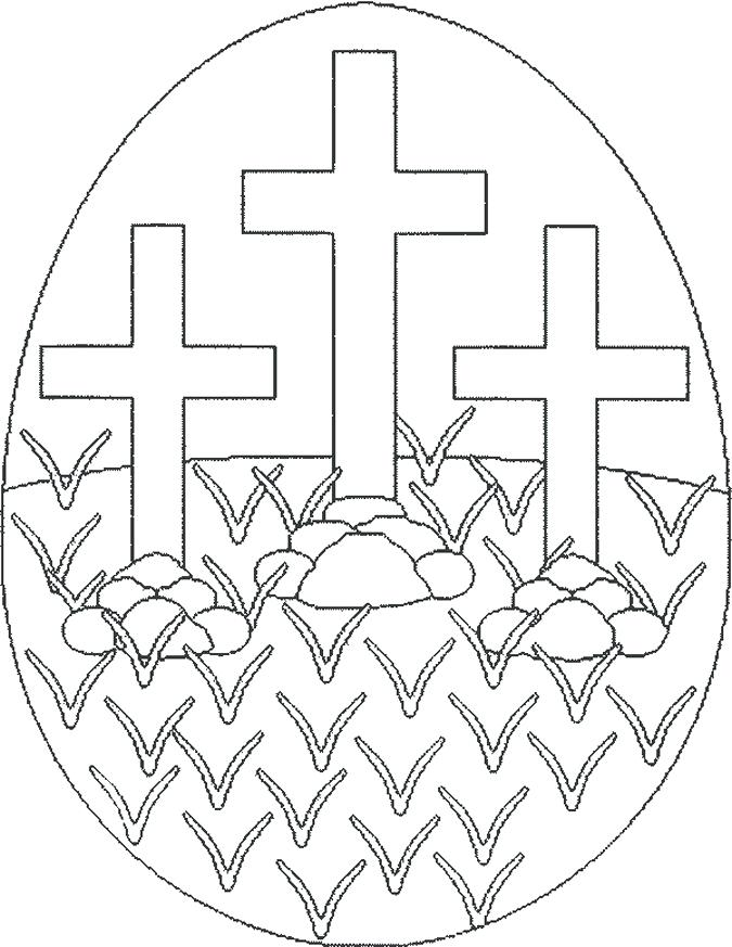675x873 Printable Easter Egg Coloring Pages For Adults Religious Color
